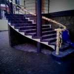 Отделка Монолитной Бетонной лестницы плиткой