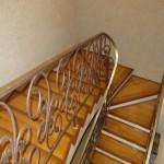Отделка Монолитной Бетонной лестницы деревом
