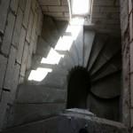 Монолитная бетонная лестница №29