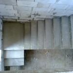 Монолитная бетонная лестница №20