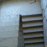 Монолитная бетонная лестница №15