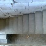 Монолитная бетонная лестница №14