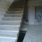 Монолитная бетонная лестница №11