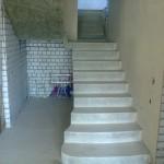 Монолитная бетонная лестница №8