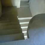Монолитная бетонная лестница №7