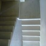Монолитная бетонная лестница №6
