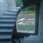 Монолитная бетонная лестница №3
