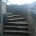 Наружная Монолитная бетонная лестница №9