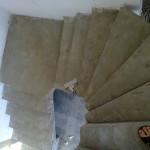 Монолитная бетонная лестница №24