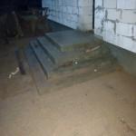 Наружная Монолитная бетонная лестница №8